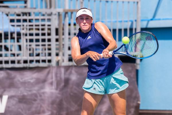 Tenis Fest 2021 374 210816 NM - OP ZDA: Druga igralka sveta prezahtevna nasprotnica za Zidanškovo, konec tudi za Juvanovo