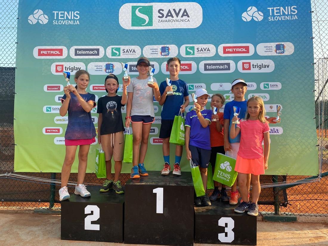 WhatsApp Image 2021 08 21 at 19.59.08 1 - Tenis Fest (U8 - U11): Najmlajši slovenski teniški upi znova navdušili v Portorožu