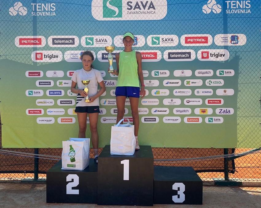 Zala - Tenis Fest (U16): Na slovenski obali najboljša Miha Bajželj in Zala Bizjak (FOTO)
