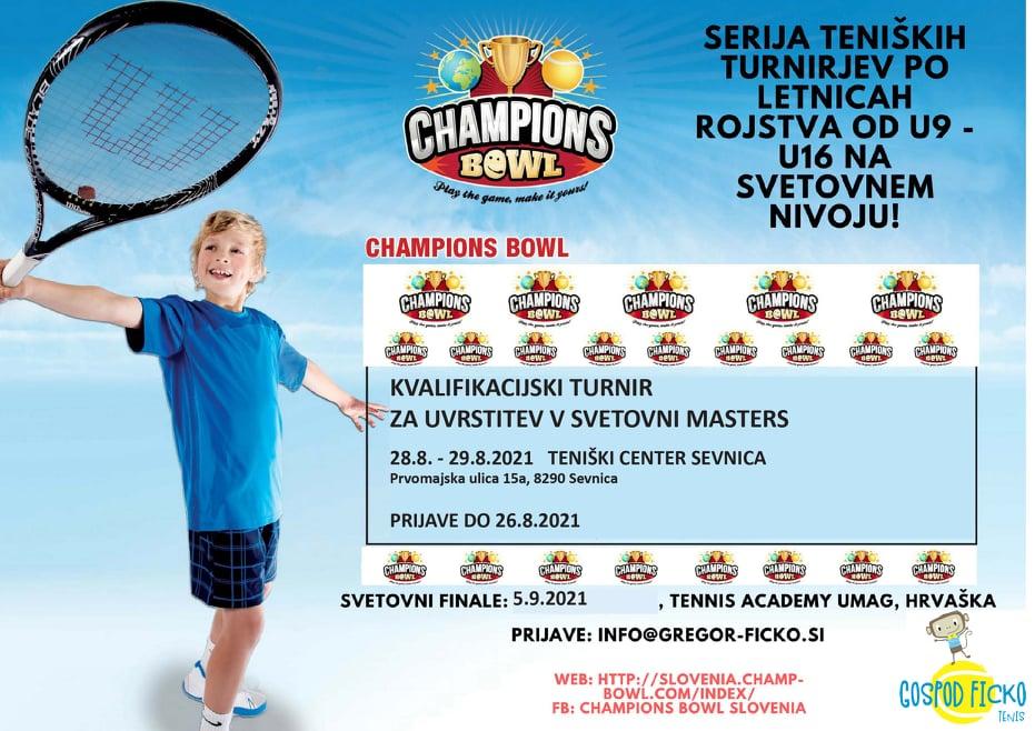 bowl - PRIJAVE ODPRTE: V Sevnici kvalifikacijski turnir za uvrstitev na umaški masters Champions Bowl