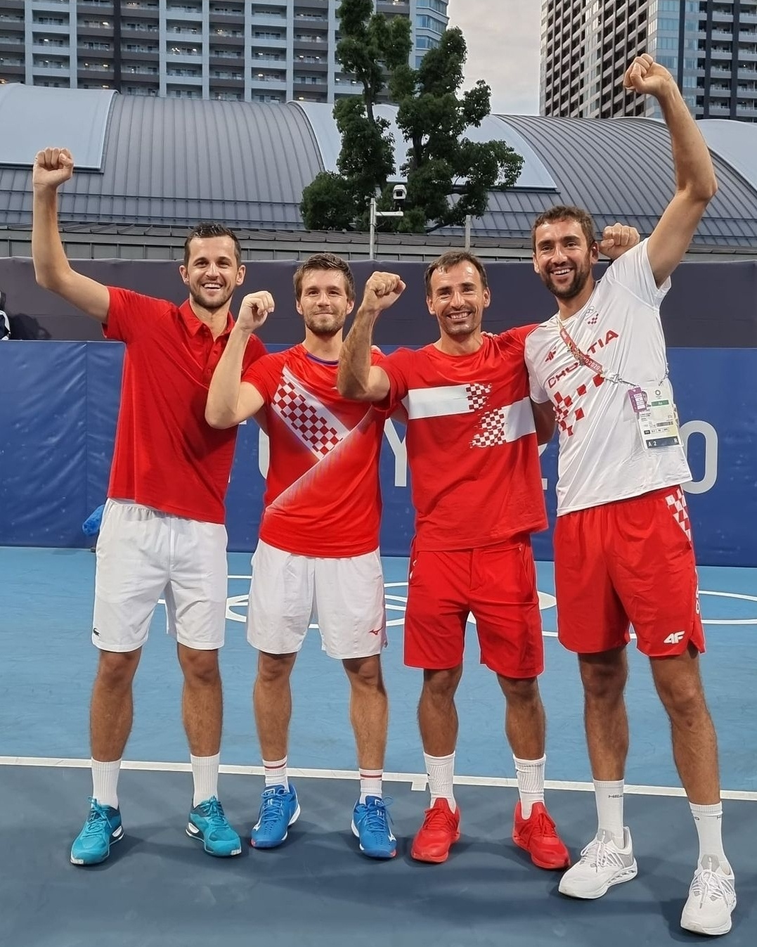 finalisti - Rusija kot edina v Tokiu do treh olimpijskih odličij v tenisu
