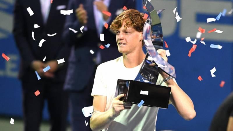 jannik sinner of italy celebrates winning the final against mackenzie mcdonald of the united states 1628479410 3228 - ATP Washington: Sinner premagal McDonalda za prvi ATP 500 turnir