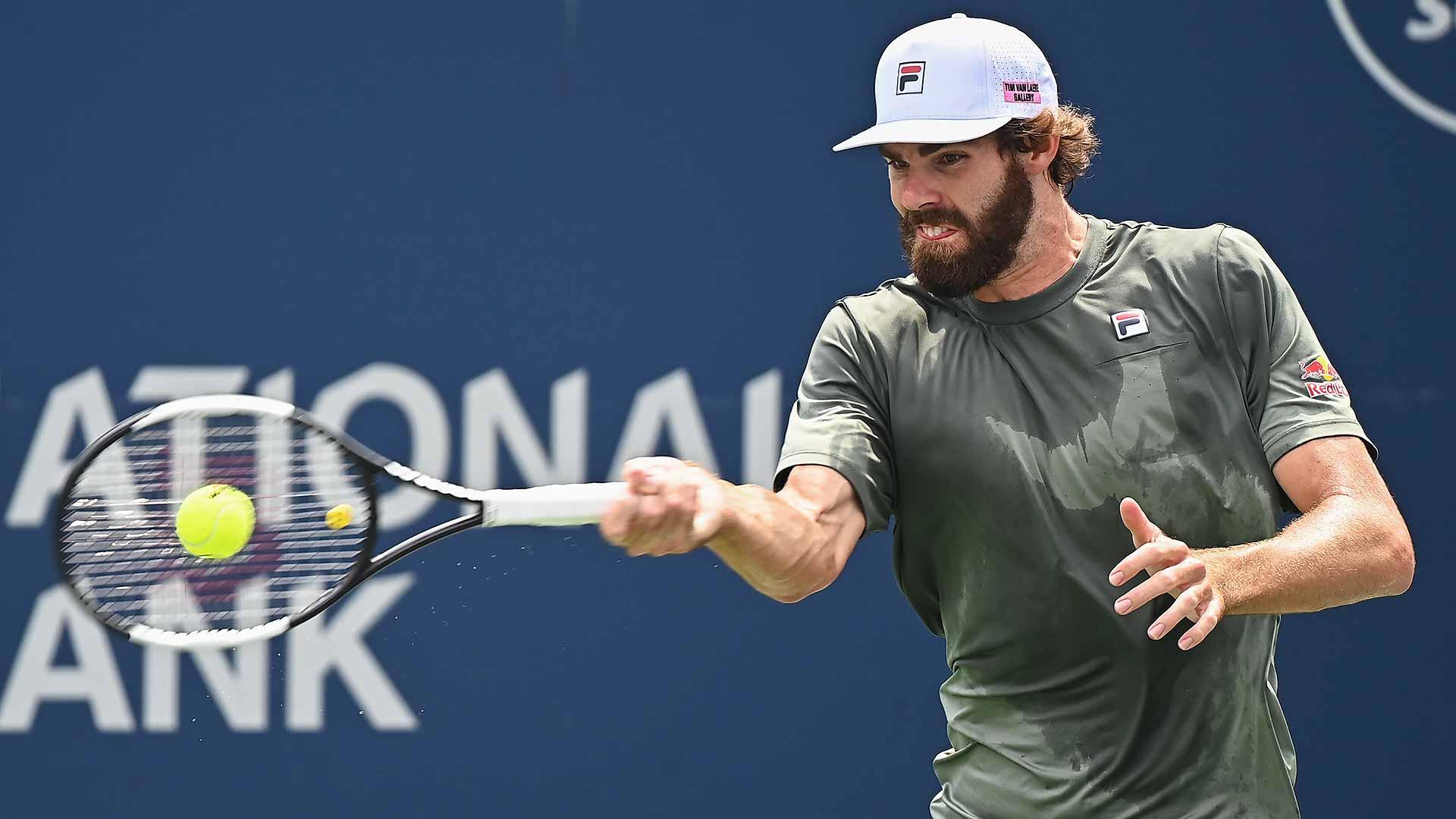 opelka toronto 2021 friday2 - ATP Toronto: Reilly Opelka do prvega Masters finala