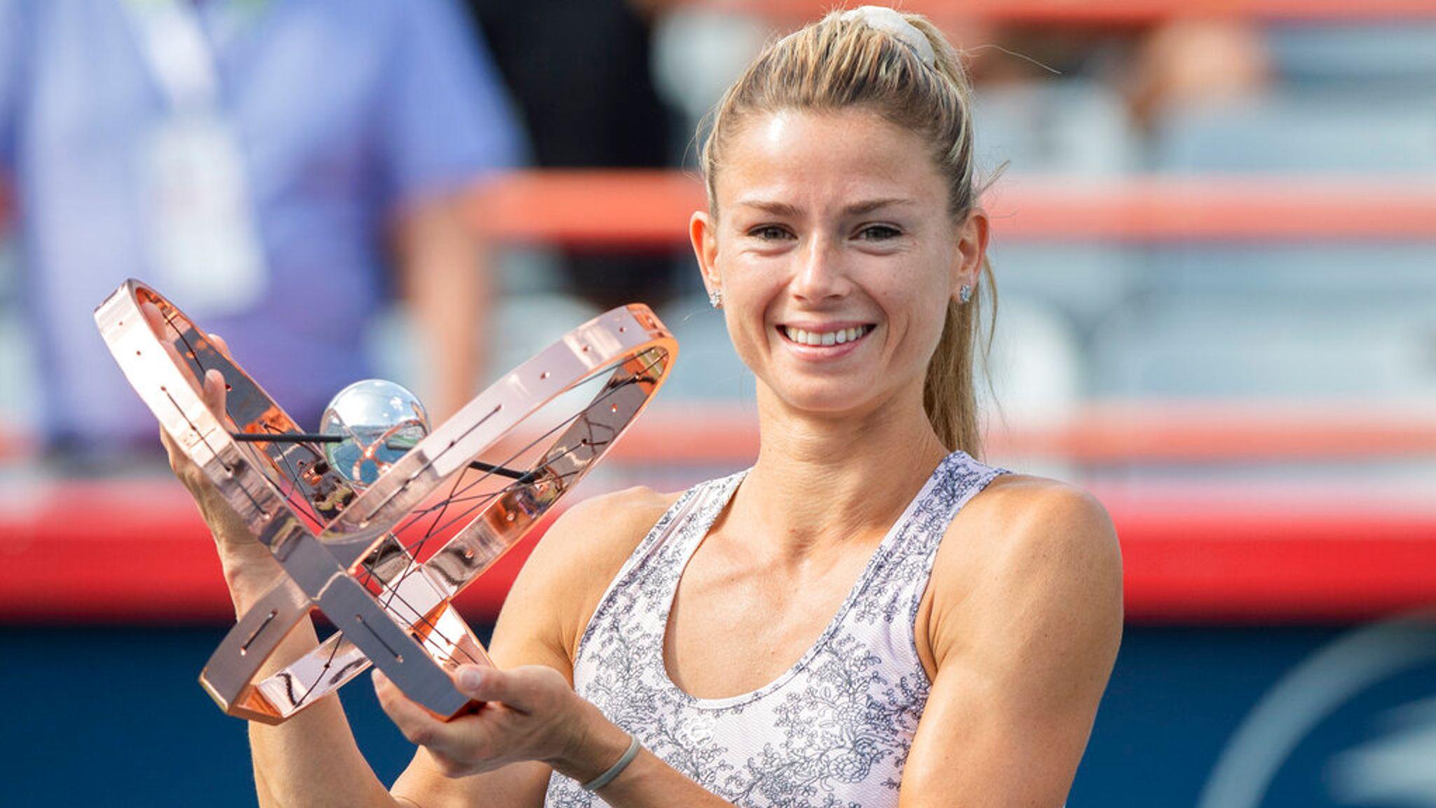 skysports camila giorgi tennis 5480490 - Partnerka Klepačeve do rekordne uvrstitve, zmagovalka Montreala napredovala za 37 mest