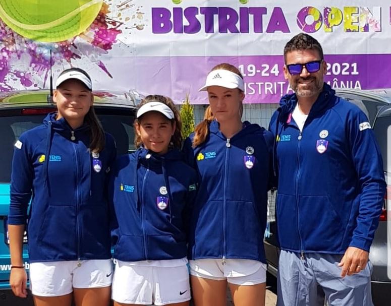 u16d - Slovenski reprezentanci U16 končali z nastopi v Romuniji in Španiji