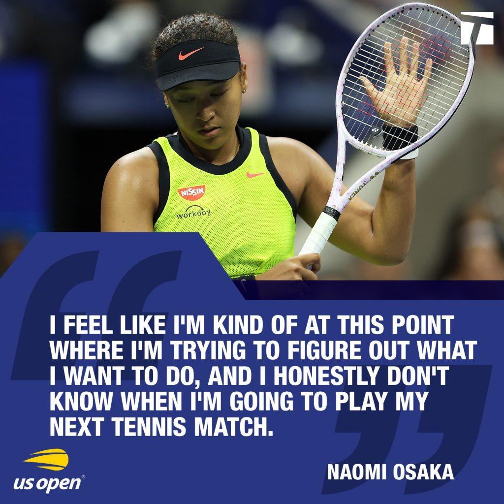 240599934 10160001860064175 2974435229173207329 n 1024x1024 - Naomi Osaka se po porazu začasno poslavlja od tenisa