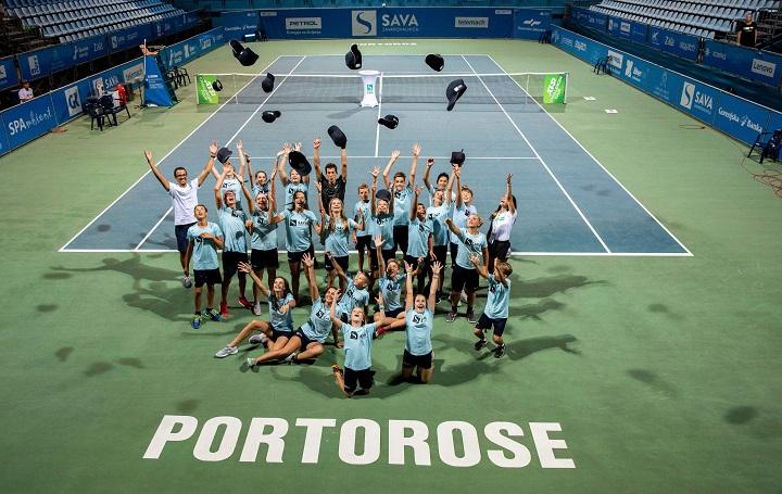 ATP Challenger Portoroz 3250 190818 VID - WTA Zavarovalnica Sava Portorož 2021 in Davis Cup srečanje SLOVENIJA-PARAGVAJ