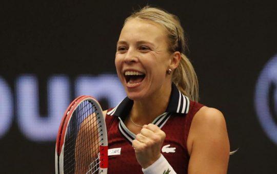 Anett Kontaveit 1024x576 1 540x340 - WTA Ostrava: Kontaveitova zmagovalka v češki Ostravi