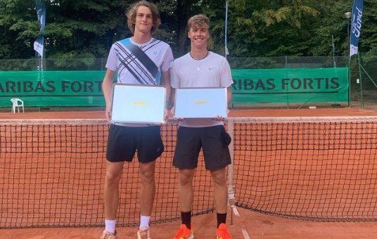 Bor1 536x340 - Bor Artnak odličen teden v Belgiji kronal s prvim naslovom na ITF J1 turnirjih