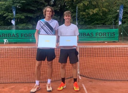Bor1 - Bor Artnak odličen teden v Belgiji kronal s prvim naslovom na ITF J1 turnirjih