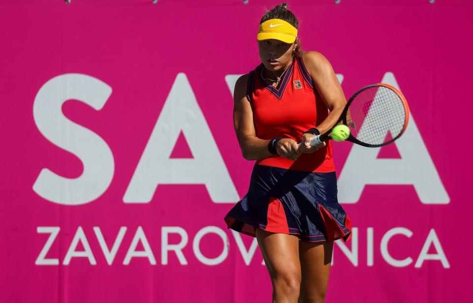 Ela Nala Milič SPORTIDA - WTA Zavarovalnica Sava Portorož: Danes so nastopile štiri Slovenke