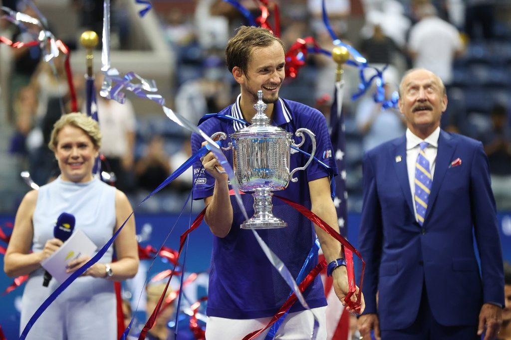 Foto Tennis Channel 3 1024x683 - OP ZDA: Đoković v porazu proti Medvedevu v New Yorku še nikoli ni čutil tako močne podpore publike