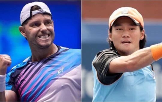 James Duckworth vs Kwon Soon woo 696x392 1 540x340 - ATP Nur-Sultan: Kwon in Duckworth prvič v finalu turnirja ATP