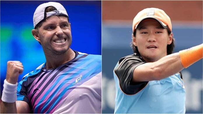 James Duckworth vs Kwon Soon woo 696x392 1 - ATP Nur-Sultan: Kwon in Duckworth prvič v finalu turnirja ATP