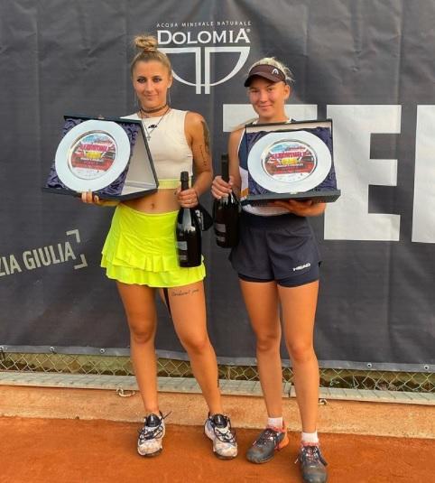 Radisic - ITF: Špec le še korak oddaljen od sanjskega tedna v Avstriji, Radišićeva v Trstu do novega naslova v dvojicah