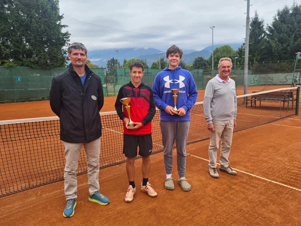 Radovljica - U16: Binetu Lazarju B turnir v Radovljici, turnirja A kategorije še v teku