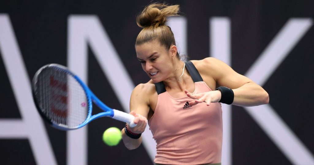 Sakkari R2 Pavel Lebeda 1024x538 - WTA Ostrava: Grško-estonski finale za zaključek izvrstnega turnirja