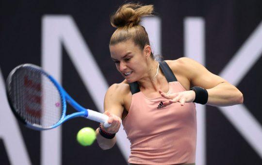 Sakkari R2 Pavel Lebeda 540x340 - WTA Ostrava: Grško-estonski finale za zaključek izvrstnega turnirja