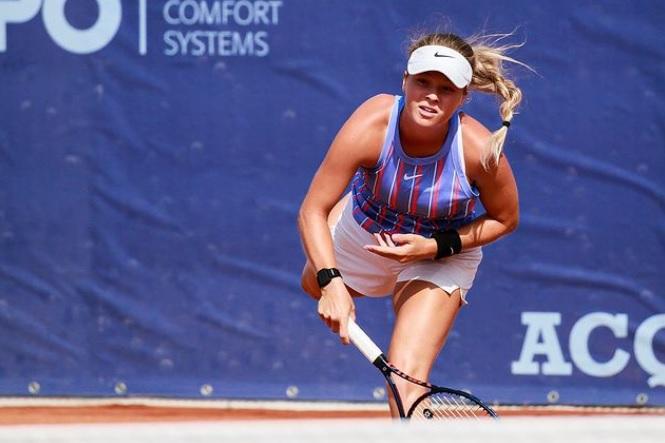 Veroniak - ITF: Veronika Erjavec na Češkem že do dveh zmag, potrebuje še eno