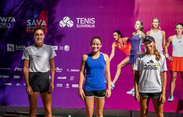 """WTA Portoroz 006449 210913 VID - Tamara Zidanšek: """"Vsak teden, vsak turnir je proces učenja"""""""