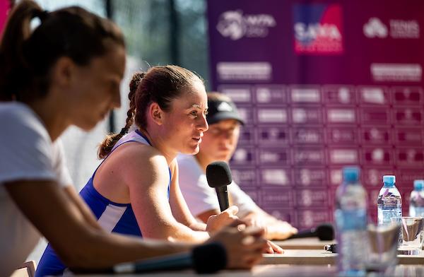 """WTA Portoroz 006852 210913 VID - Tamara Zidanšek: """"Vsak teden, vsak turnir je proces učenja"""""""