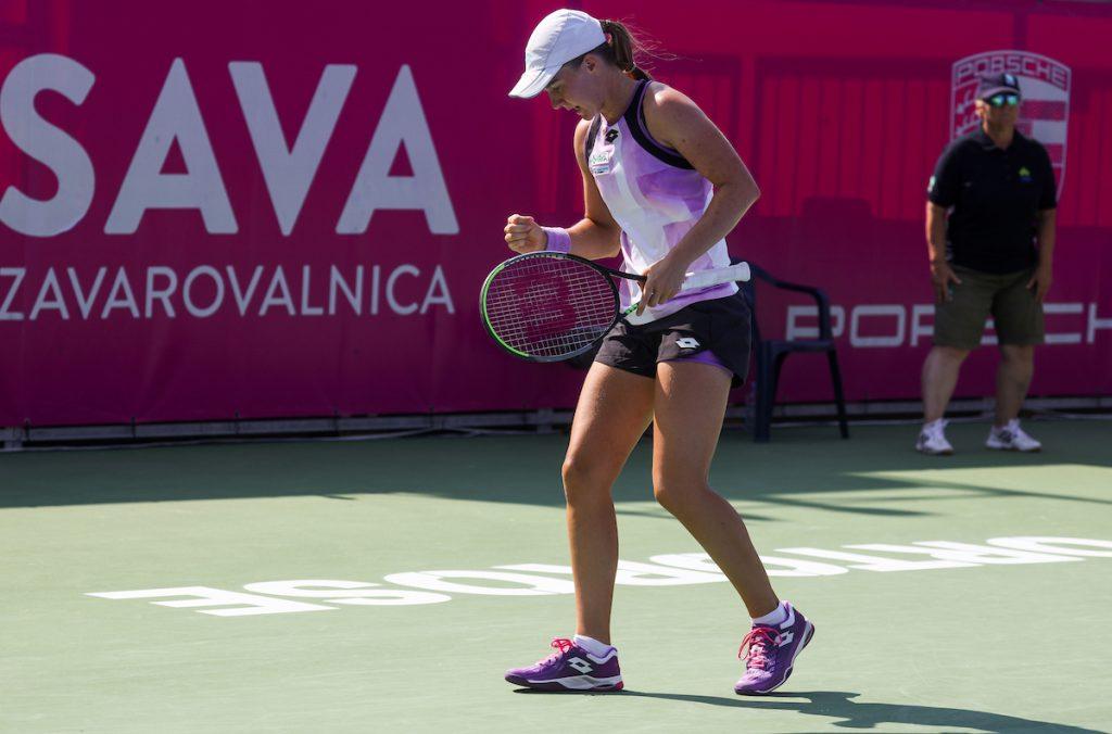 WTA Portoroz 014851 210914 VID 1024x676 - ITF: Falknerjeva zmagovalka vseslovenskega dvoboja na Portugalskem, Artnak in Dominko uspešna v Belgiji