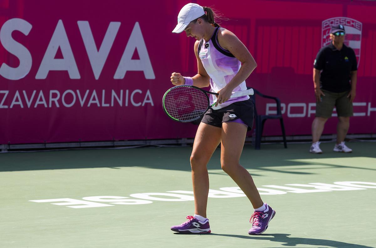 WTA Portoroz 014851 210914 VID - ITF: Falknerjeva zmagovalka vseslovenskega dvoboja na Portugalskem, Artnak in Dominko uspešna v Belgiji