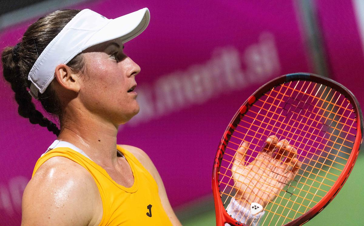 WTA Portoroz 030044 210917 VID - WTA Indian Wells: Tamara Zidanšek med 32 najboljših!