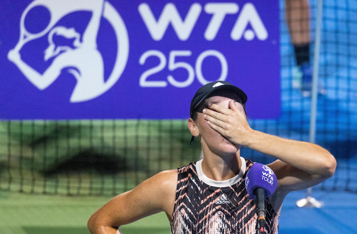 WTA Portoroz 030184 210917 VID - Kaja Juvan žrtev nerazumljive poteze organizatorjev turnirja v Nur-Sultanu