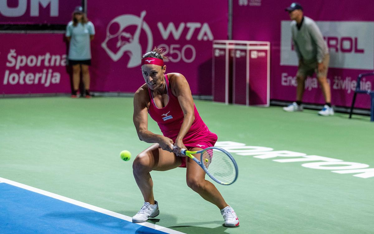 WTA Portoroz 038111 210918 VID - Klepačeva zmagovalka slovenskega obračuna v Chicagu, konec za Zidanškovo