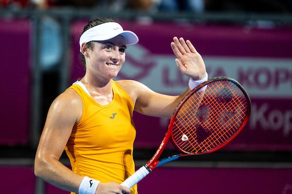 WTA Portoroz 2083 210914 MKV - Zidanškova in Juvanova v drugem kolu turnirja v Portorožu