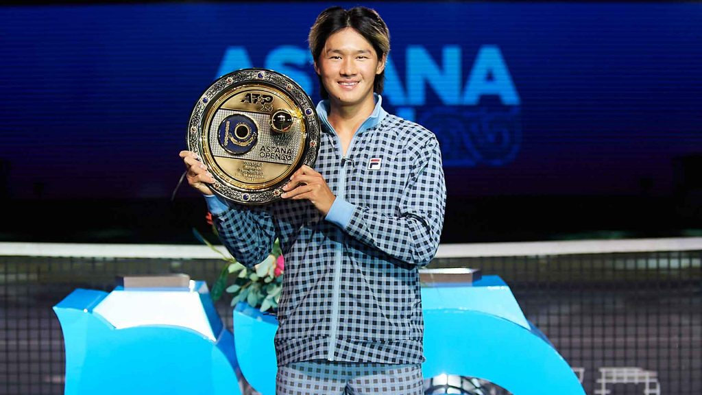 kwon nur sultan 2021 sunday final 1024x576 - ATP Nur-Sultan: Kwon do prvega naslova na turnirjih ATP