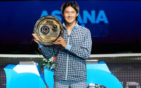 kwon nur sultan 2021 sunday final 540x340 - ATP Nur-Sultan: Kwon do prvega naslova na turnirjih ATP