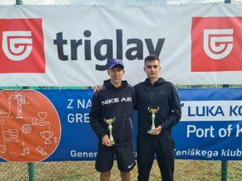 3.4 350x262 - U18: Protič Žakelj na Mastersu v Kopru najboljše prihranil za konec, do naslova še Hana Bečirovič Novak (FOTO)
