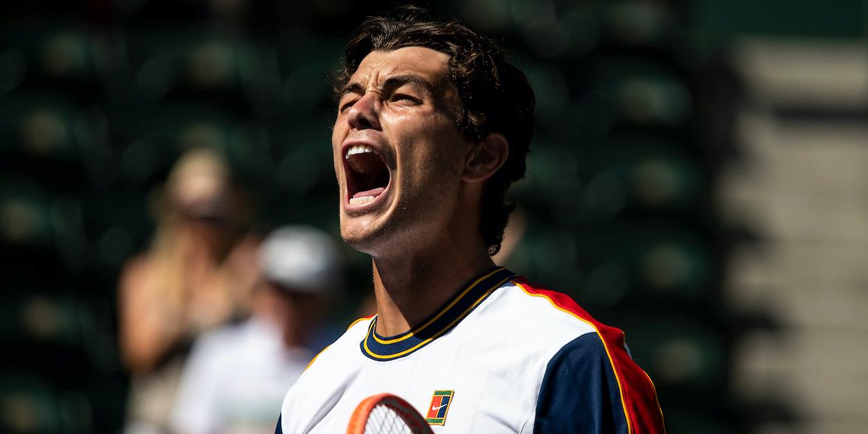 Fritz win - ATP Indian Wells: Fritz porazil Berrettinija, Američan napredoval v četrti krog