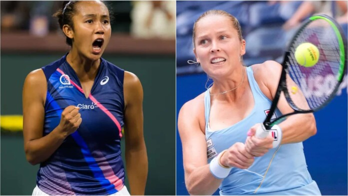 Leylah Fernandez vs Shelby Rogers 696x392 1 - WTA Indian Wells: Shelby Rogers izločila Leylo Fernandez