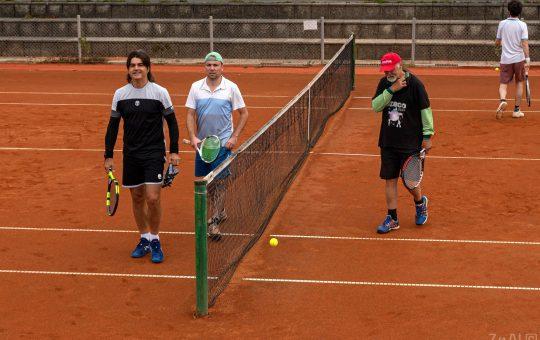 Rock Tenis Domzale oktober 2021 Foto Ales Znidarsic 64 540x340 - Rokerji združeni na glasbeno obarvanem teniškem turnirju 'Rock Tenis'