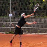 Rock Tenis Domzale oktober 2021 Foto Ales Znidarsic 9 180x180 - Rokerji združeni na glasbeno obarvanem teniškem turnirju 'Rock Tenis'