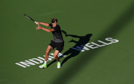 S554WWPJL5NQRO6LLHPLRSEZII 540x340 - ATP Indian Wells: Zverev kot četrti na sklepni turnir sezone v Torinu
