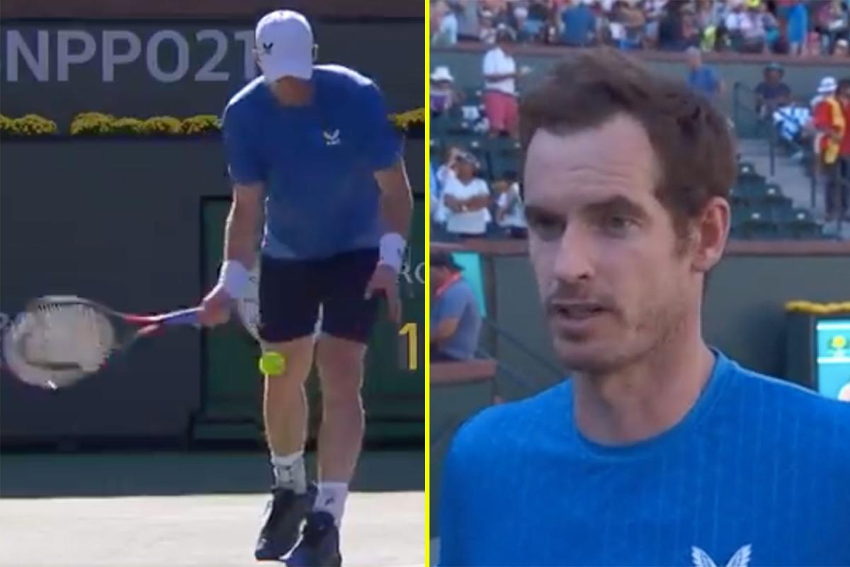 TALKSPORT MURRAY 1 - ATP Indian Wells: Poteza, ki je od Murayja ne bi pričakovali!