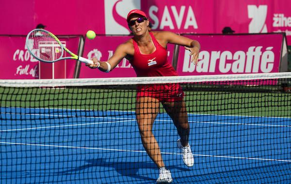 WTA Portoroz 008910 210913 VID 1 - Klepačeva in Jurakova na Tenerifih ostali brez polfinala