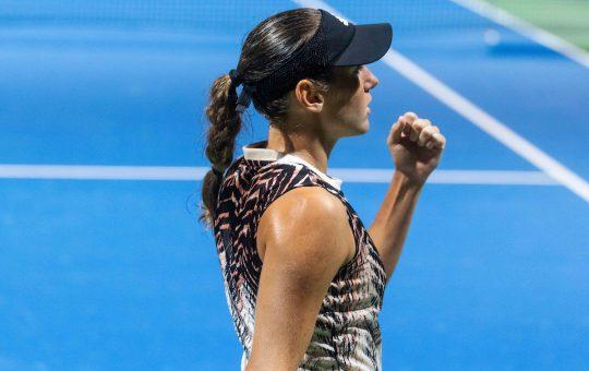 WTA Portoroz 030072 210917 VID 540x340 - Kaja Juvan na Tenerifih za zmago potrebovala le 40 minut