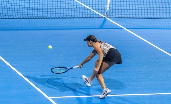WTA Portoroz 030115 210917 VID - Naveza Dzalamidze N./Juvan K. v Nur-Sultanu zaustavljena v polfinalu