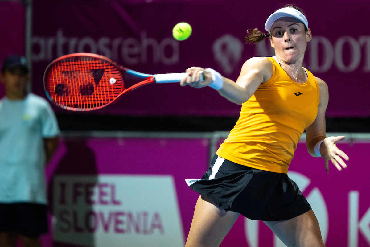 WTA Portoroz 2091 210914 MKV - WTA Indian Wells: Zidanškova dobro pričela, Tomljanovićeva bolje nadaljevala