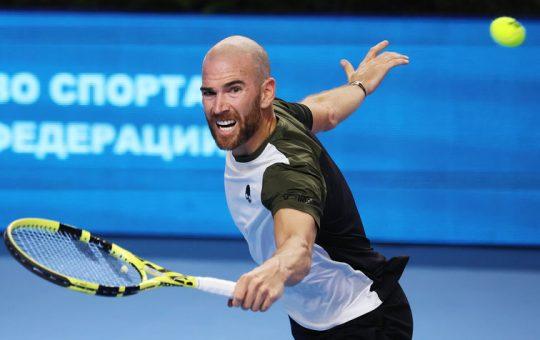 csm adrian mannarino a4a95304a5 540x340 - ATP Moskva: Adrian Mannarino rešil zaključno žogico in izločil Rubleva