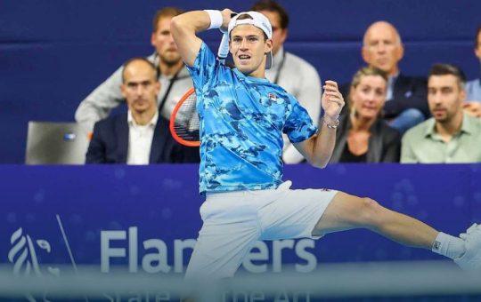 diego 540x340 - ATP Antwerp: Diego porazil Murrayja