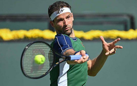 dimitrov indian wells 2021 thursday 540x340 - ATP Indian Wells: Dimitrov ponovno igral izjemno in se vrnil po zaostanku