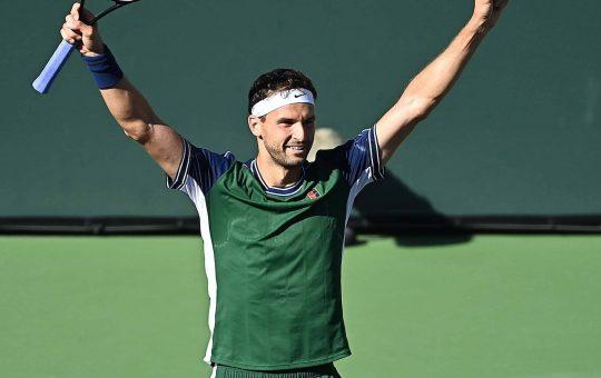 dimitrov indian wells 2021 wednesday 2 540x340 - ATP Indian Wells: Dimitrov našel svoj najboljši tenis