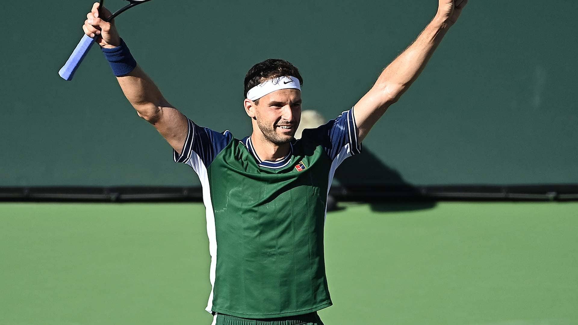 dimitrov indian wells 2021 wednesday 2 - ATP Indian Wells: Dimitrov našel svoj najboljši tenis