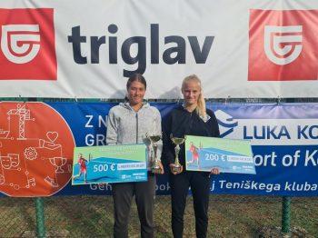 hana1 350x262 - U18: Protič Žakelj na Mastersu v Kopru najboljše prihranil za konec, do naslova še Hana Bečirovič Novak (FOTO)